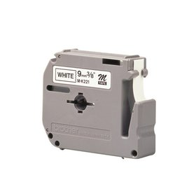 Brother Labeltape Brother p-touch mk231 12mm zwart op wit