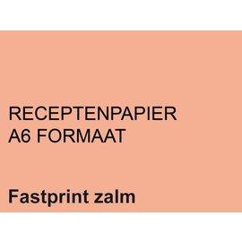 Fastprint Receptpapier Fastprint A6 80gr zalm 2000vel