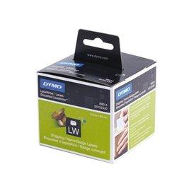 Dymo Etiket Dymo 99014 labelwriter 54x101mm badgelabel 220stuks