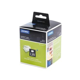 Dymo Etiket Dymo 99012 labelwriter 36x89mm 520stuks