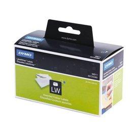 Dymo Etiket Dymo 99011 labelwriter 28x89mm assorti 130stuks