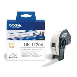 Brother Etiket Brother dk-11204 17x54mm 400stuks