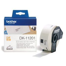 Brother Etiket Brother dk-11201 29x90mm adres 400stuks