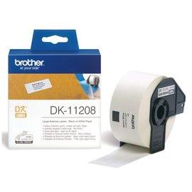 Brother Etiket Brother dk-11208 38x90mm groot adres 400stuks