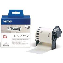Brother Etiket Brother dk-22212 62mm 15-meter witte film