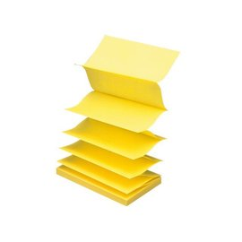 3M Post-it Memoblok 3M Post-it Z-Note R350 76x127mm geel