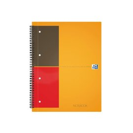 Oxford Spiraalblok Oxford international notebook A4 gelinieerd