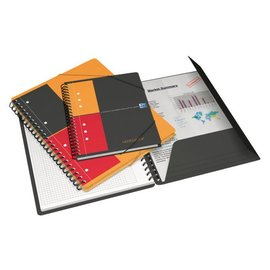Oxford Spiraalblok Oxford international meetingbook A5 gelinieerd