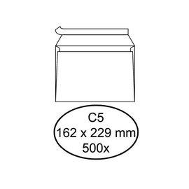 Quantore Envelop Quantore bank c5 162x229mm zelfklevend wit 500stuks