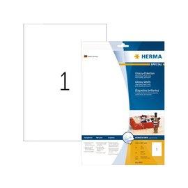 Herma Etiket Herma 8895 210x297mm A4 wit 10stuks
