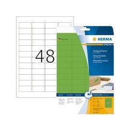Herma Etiket Herma 4369 45.7x21.2mm groen 960stuks