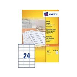 Avery Etiket Avery dp246-100 70x36mm kopieren 2400stuks