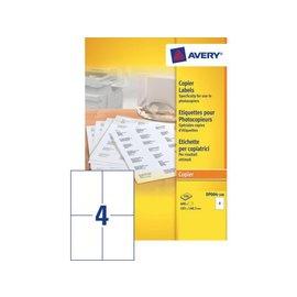 Avery Etiket Avery dp004-100 105x149mm kopieren 400stuks