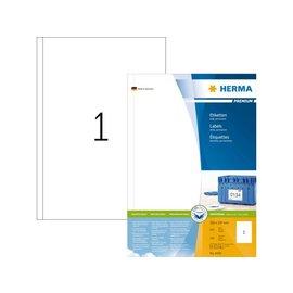Herma Etiket Herma 4458 200x297mm A4 premium wit 100stuks