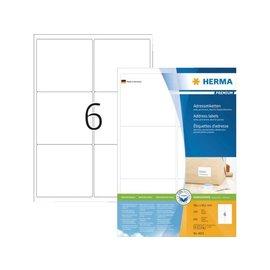Herma Etiket Herma 4253 99.1x93,1mm premium wit 600stuks