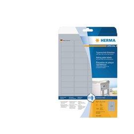 Herma Etiket Herma 4216 105x148mm zilver 100stuks