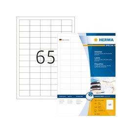 Herma Etiket Herma 4810 38.1x21.2mm wit 6500stuks