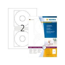 Herma Etiket Herma 4471 cd 116mm wit opaqua 200stuks