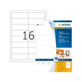 Herma Etiket Herma 4815 96.5x33.8mm wit 1600stuks