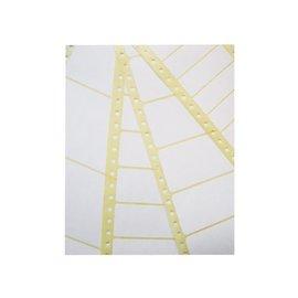 Avery Etiket Avery zweckform t1814 89x36.1mm 1-baans wit 4000stuks