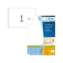 Herma Etiket Herma 8690 148.5x205mm premium wit 400stuks
