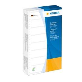 Herma Herma 8073 computeretiketten eindloos 147,32x99,2 mm geel 1000 st. perf