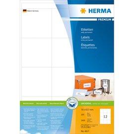 Herma Herma 4617 etiketten wit 70x67,7 premium A4 2400 st.