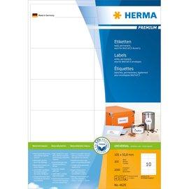 Herma Herma 4629 etiketten wit 105x50,8 premium A4 2000 st.