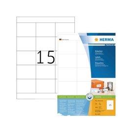 Herma Etiket Herma 4618 70x50 8mm premium wit 3000stuks