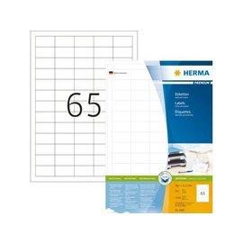 Herma Etiket Herma 4606 38.1x21.2mm premium wit 13000stuks