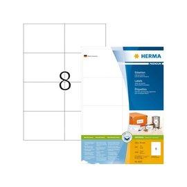Herma Etiket Herma 4626 105x74mm premium wit 1600stuks