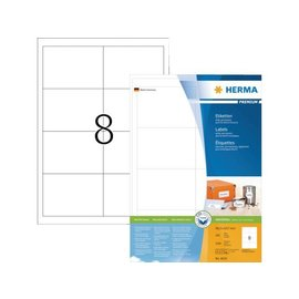 Herma Etiket Herma 4624 97x67 7mm premium wit 1600stuks