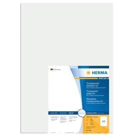 Herma Herma 8694 A3-etiketten folie transp. 297x420  A3 lasercopy 50st