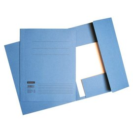 Quantore SET 10 Dossiermap Quantore A4 320gr blauw