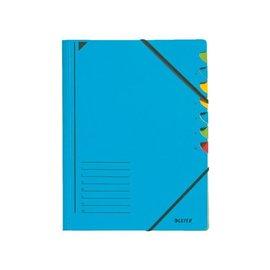 Leitz Sorteermap Leitz 3907 7-delig blauw