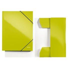 Leitz 10 x Elastomap Leitz wow A4 groen