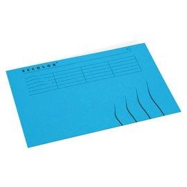 Jalema 25 x Vouwmap Jalema secolor A4 gelijk blauw