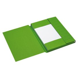 Jalema 25 x Dossiermap Jalema secolor 225gr A4 groen