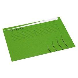Jalema Vouwmap Jalema secolor A4 ongelijk groen