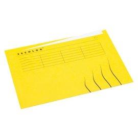 Jalema Vouwmap Jalema secolor A4 ongelijk geel