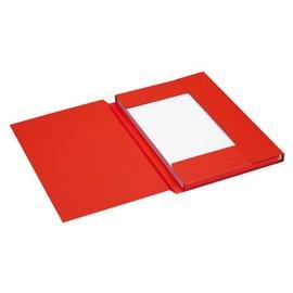 Jalema 25 x Dossiermap Jalema secolor 225gr folio rood