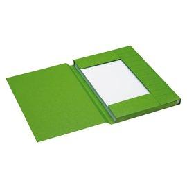 Jalema 25 x Dossiermap Jalema secolor 225gr folio groen