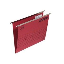 Elba 25 x Hangmap Elba verticfile A4 v bodem rood doos 25 stuks