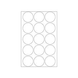 Herma Etiket Herma 2277 rond 32mm transparant 240stuks