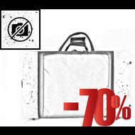 BAGS Waldhornkoffer – schraubbarer Becher – mit Dämpferfach – Farbe: weiß matt fusion