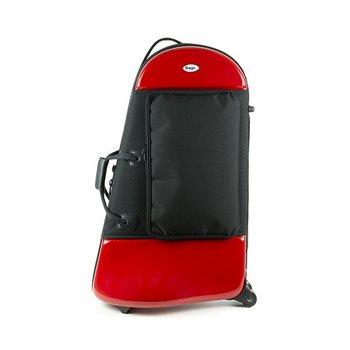BAGS Euphonium Formkoffer – Farbe: rot glänzend