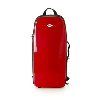 BAGS 2er Trompetenkoffer (Perinet) – Farbe: rot glänzend