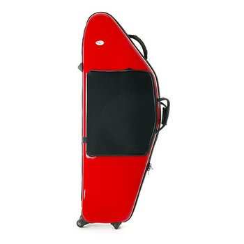 BAGS Baritonsaxophon Formkoffer – TiefA/B – Farbe: rot glänzend