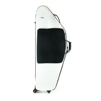 BAGS Baritonsaxophon Formkoffer – TiefA/B – Farbe: weiß glänzend
