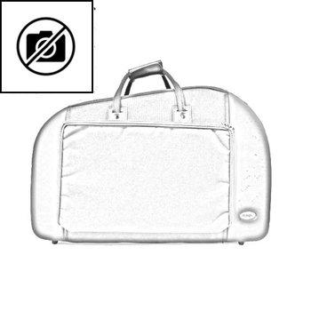 BAGS Waldhorn Formkoffer – schraubbarer Becher – mit Dämpferfach – Farbe: weiß matt